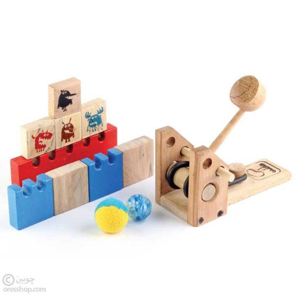 منجنیق چوبی | اساب بازی منجنیق | منجنیق چوبین | منجنیق روپک | بازی منجنیق