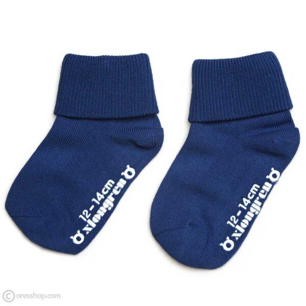 جوراب استپ دار ساق بلند طرح ساده