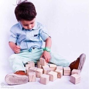 آجرک نونهالان | مکعب چوبی