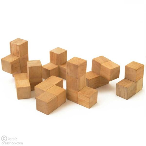 مکعب سوما | پازل چوبی