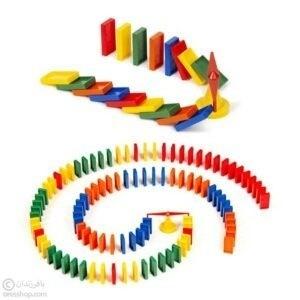 چیدنیها 100 قطعه | دومینو پلاستیکی
