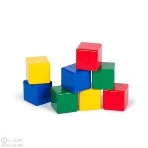 مکعبهای رنگی | مکعب پلاستیکی