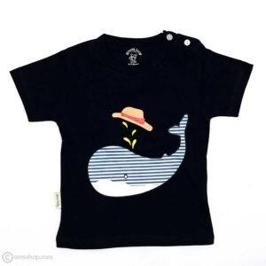 تیشرت شلوارک پسرانه نهنگ-تیشرت
