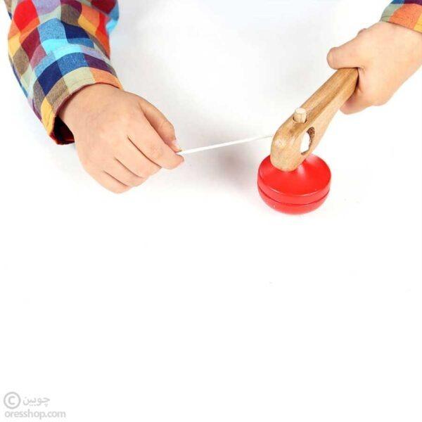 فرفره چوبی با نخ-3