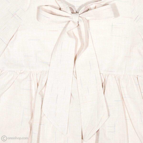 پیراهن نخی دخترانه-نزدیک