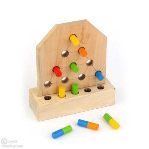 دورنگی   دوز رنگی چوبی