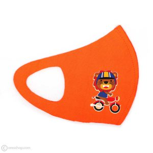 ماسک بچه گانه طرح خرس موتوری