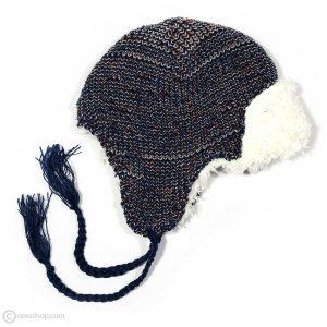 کلاه بافت رو گوشی بنددار 4